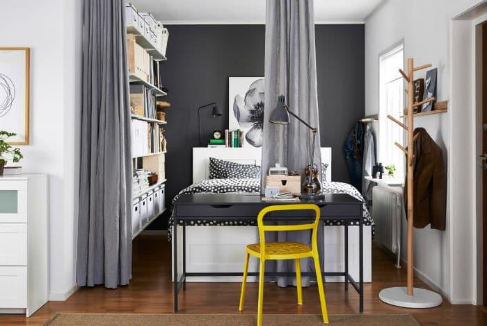 Comment concevoir une chambre sans armoire?